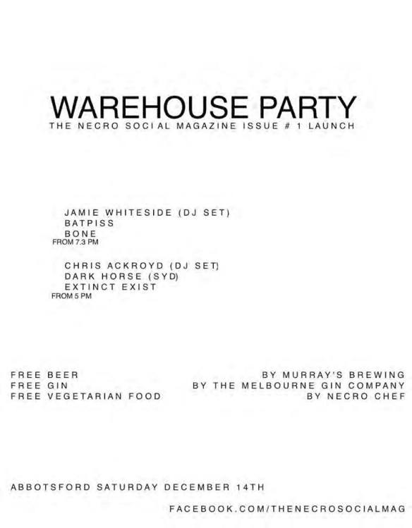 Dec 14 warehouse