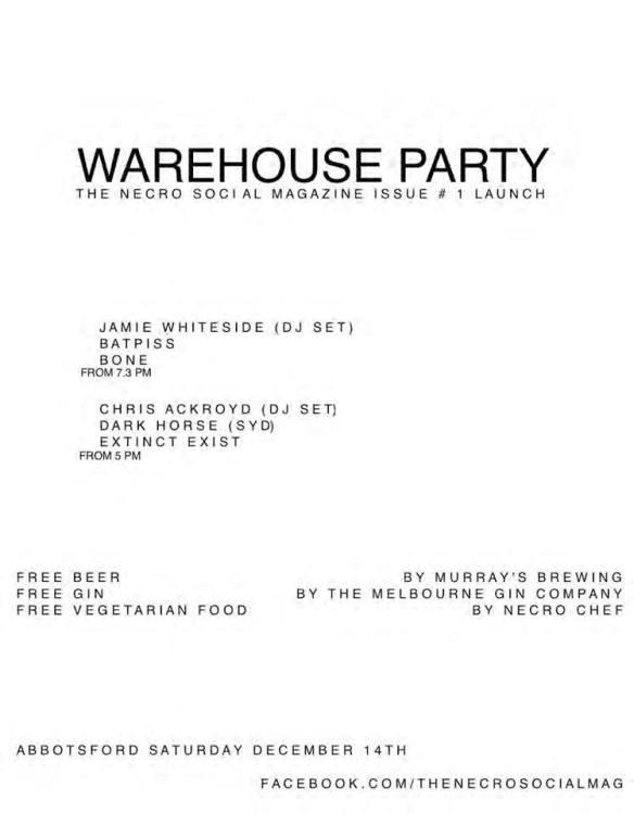 Dec 14 warehouse